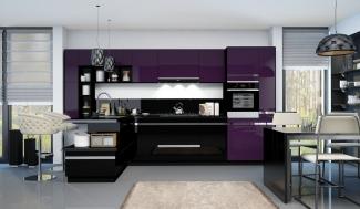 Кухонный гарнитур из Алвика глянец