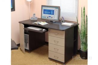 Рабочий стол с ящиками