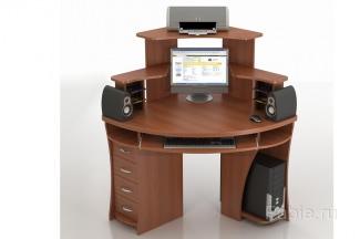 Угловой полукруглый стол