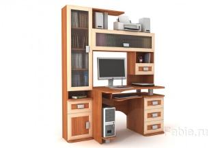 Стол компьютерный со шкафом