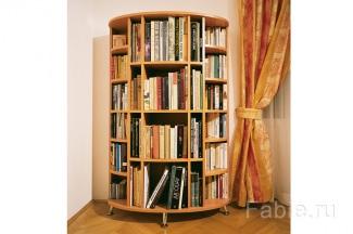 Круглые книжные полки