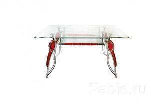Стол с каленым стеклом