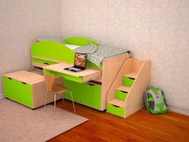 """Детский набор-кровать """"Караван5"""""""