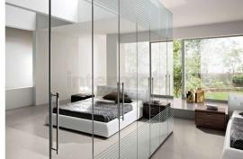 шкаф зеркальный с гравировкой на заказ