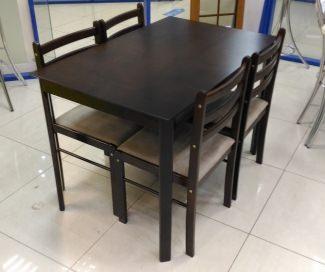 стол 1,1*0,7 деревянный со стульями распродажа