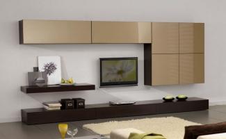 ТВ стенка в гостиную современная на заказ