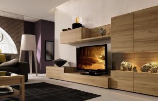 мебель в гостиную с тв тумбой на заказ fabie