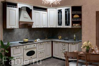 Модульная кухня в классическом стиле