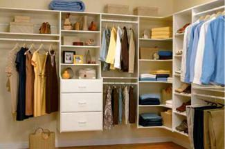 Шкафы для гардеробной