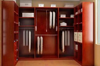 шкафы в гардеробную