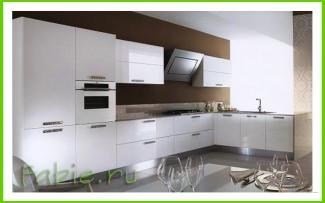 Кухня из акрила