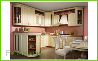 Кухня из дуба