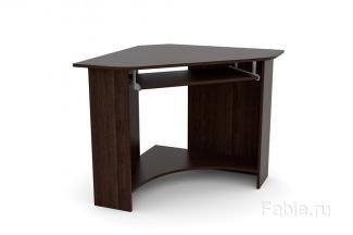 Угловой стол без полок