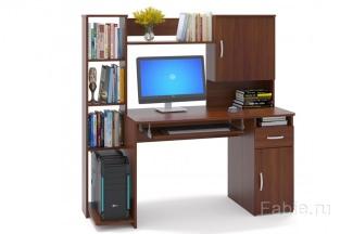 Компьютерный стол со стеллажом купить