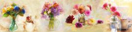"""Фартук с тиснением """"Цветы в вазах"""""""