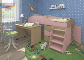 Кровать со встроенным столом