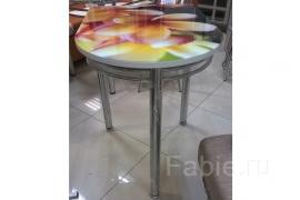 стол полуовальный