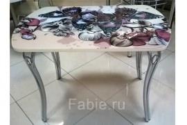 Стол на МДФ с фотопечатью на стекле